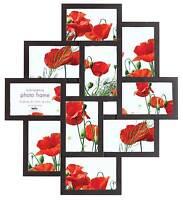 Fotorahmen Collage Maggiore V Schwarz-10 Fotos 10x15-Bilderrahmen Fotogalerie