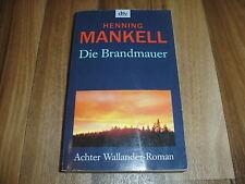 HENNING MANKELL -- KOMMISSAR WALLANDER 8 / Die BRANDMAUER