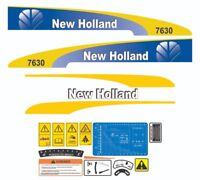 Stickers Complete Set Adhesives 2004 New Holland E215B Excavator Decals