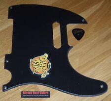Squier Telecaster Pickguard Black Classic Vibe 50's Guitar Parts Project Tele