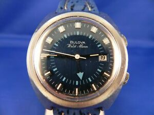 1970's Bulova Wrist Alarm in excellent condition