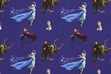 Jersey Disney Frozen DUNKELBLAU Digitaldruck 1 5m breite