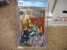 Metal Men 1 cgc 9.8 DC 1993 FOIL METALIC cover WHITE pgs NM MINT Doc Magnus COOL