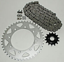 1990-2014 KAWASAKI KL650 KLR650 650 O RING CHAIN AND SPROCKET 14/43 106L