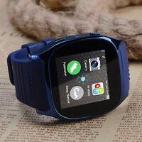 T8 Smart Phone Watch Wristwatch Bluetooth SIM Card Watch Student Kids Gift New