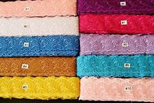 Very Pretty  embroidered Lace Trim - selling by the yard