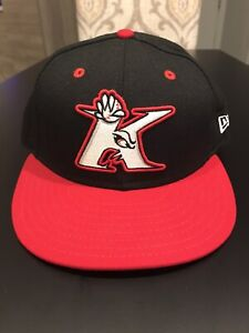 Kannapolis Intimidators New Era 5950 Hat Cap Size 7 1/4 NWT Made In USA