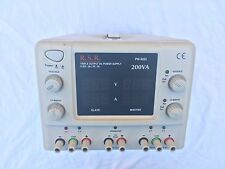 RSR PW-3033 Triple 3 Output DC Power Supply Tested FREE SHIPPING
