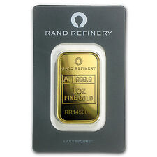 1 oz Gold Bar - Rand Elephant Mirage (In Assay) - SKU #91448