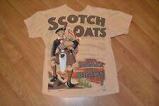 Retro Scotch Oats Brain & Brawn Henry Ford Museum T Shirt XL Advertisement Nice