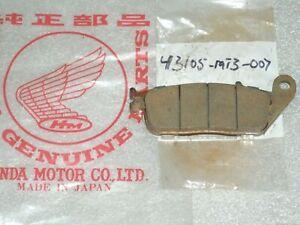 HONDA ST 1100 PAN EUROPEAN 1995 ARMSTRONG SINTERED HH REAR BRAKE PADS