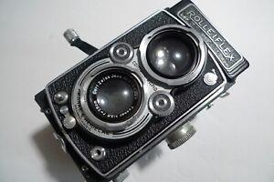 Vintage Rolleiflex DRP DRGM ZEISS CAMERA f1:3.5  f=75mm LENS Works