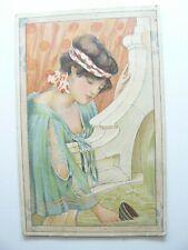 The Ellanbee Art Nouveau Postcard by Landeker & Brown - 1904 - Atfield Red Hill