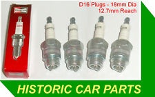 "4 x 18mm SPARK PLUGS for DAVID BROWN ""Cropmaster"" 1947-54 replaces CHAMPION C87"