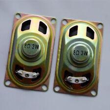 """1 Paio Nuovo 8Ω 8Ohm 3W 1.5"""" Full Range Audio Altoparlante Woofer Altoparlante Stereo"""
