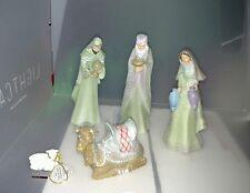 "NEW HAWTHORNE VILLAGE Christmas Tree Nativity ""HEAVENLY BLESSINGS"""