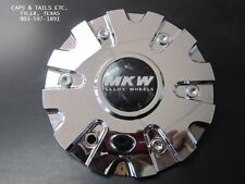 MKW M109 Center Cap MKW CAPM-712 Center Cap Chrome