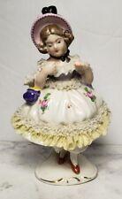 Dresden Antique Porcelain Figurine Germany