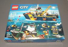 LEGO Deep Sea Exploration Vessel CITY Set 60095 w Submarine, Shipwreck, Sharks