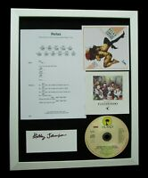 FRANKIE GOES TO HOLLYWOOD+HOLLY+SIGNED+FRAMED+RELAX=100% GENUINE+FAST WORLD SHIP