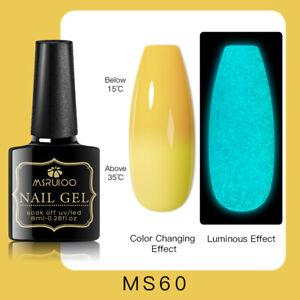 MSRUIOO Luminous Color-Changing UV Gel Nail Polish Soak Off Salon Manicure MS60
