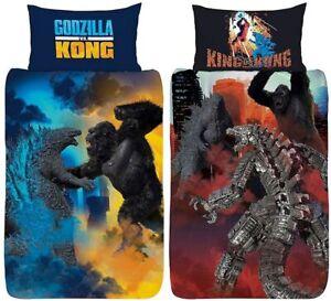 Godzilla Vs Kong Battle Royale Official Reversible Bedding Single Duvet Cover