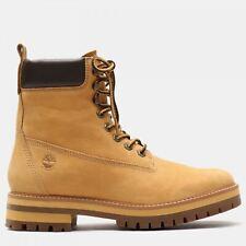 Timberland Mens Courma Waterproof Nubuck Boots Brown