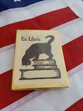 50 Ex Libris Cat Bookplates