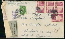 Mayfairstamps Finland 1945 Air Mail St Louis Building Block Architecture wwk_372