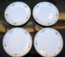 "4 Antique Noritake Plates Laureate Pattern 9 7/8"" / 10"" Discontinued 1921"