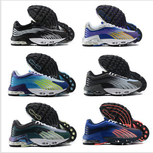 Womens MensVM Vapor Running Shoes Air Cushion TN 2 Metallic Trainer Sneaker
