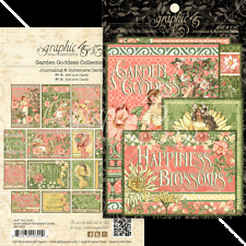 Graphic 45 Gph4501757 Garden Goddess Ephemera