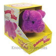 Bacon Bits Pig Plush Move Nose Snout Colors Random Piggy Piglet Moving Farm Pet
