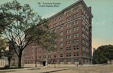 239 Furniture Temple Grand Rapids MI Michigan Postcard