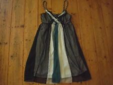 CAROLINE MORGAN COCKTAIL/PARTY DRESS. SZ:12-14.(M) LOVELY SHEER OVER-LAY. EUC
