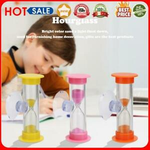2min Hourglasses Children Teeth Brushing Timer with Suction Cup Home Decor