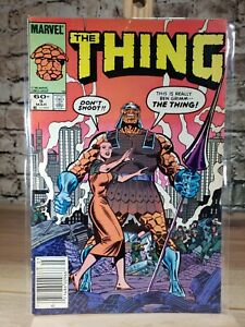 The Thing #9 (Marvel 1984) Newsstand Variant