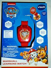 """Nickelodeon Paw Patrol Marshall Learning Watch By Vtech """"NEW"""""""