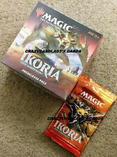 Magic Ikoria Lair Of Behemoths Prerelease & Collector Booster Pack Lot