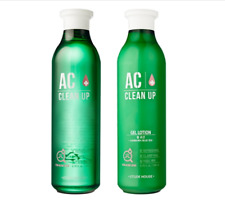 [Etudehouse] AC Clean Up Soothing Skin Care Set Toner 200ml + Lotion 200ml