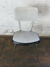 alter Stuhl 60er Stuhl Küchenstuhl Stahlrohrstuhl Vinyl Chair Vintage 50er 60s