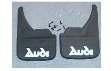 Audi Logo Universal Car Mudflaps Front Rear 80 100 A1 A2 A3 A4 A5 Mud Flap Name