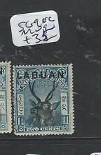 LABUAN  (P2201B) 2C DEER SG 90C  MOG