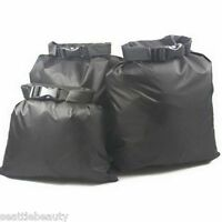 3pcs set waterproof dry storage sack bag Canoe Boating Floating Camping Outdoors