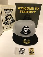 Hat Club Exclusive New Era FEAR CITY New York 59Fifty Hat Size 7 5/8 New W/ Box