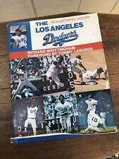 The Los Angeles Dodgers An Illustrated History Hardback Book - 1982 1st Edition