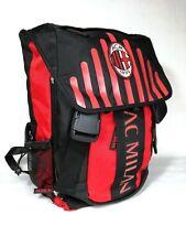 Zaino Scuola AC Milan Estensibile con Borraccia 43x29x13 cm Prodotto Ufficiale