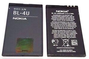 Battery BL-4U For Nokia E75 6212C 5730 5530 5330 6600I 8800CA 8800GA E66 C5-03