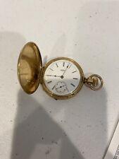 Vintage Elgin Pocket Watch - Gold