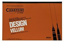 """Clearprint - Design and Sketch Pad - Unprinted - 11"""" x 17"""""""